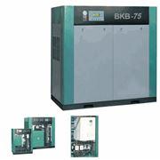 Винтовой компрессор ВКВ 60 Лидер (ременной привод) ВКВ могут комплектоваться частотным преобразователем ВС что обеспечивает оптимальное потребление электроэнергии экономия энергозатрат составляет до 25-30