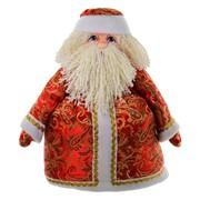 Кукла-грелка на чайник Дед Мороз фото