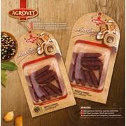 Колбаски сыровяленные BRAVORO 120 гр из говядины, баранины, свинины фото