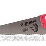 Ножовка Зубр Мастер по дереву, прямой крупный зуб, пластиковая ручка, шаг зуба 5мм, Код: 1525-04-40 фото