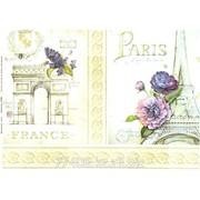 Декупажна карта формат А8 ДК Париж-Франция фото
