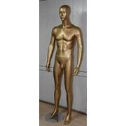 Манекен Мужской цвет-золото, серебро любые цвета по желанию заказчика фото