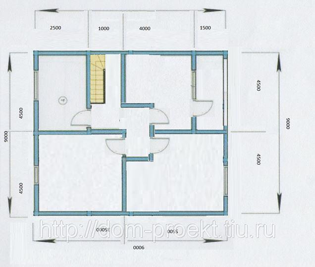 Зимний дом 9х9 с балконом и террасой за 1689000р, в санкт-пе.