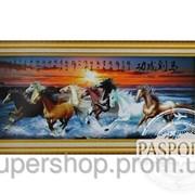 Набор для вышивки картины Табун 173х75см 373-37010677 фото
