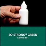 Жидкий концентрированный краситель зеленого цвета для полиуретанов SO-Strong Green фото