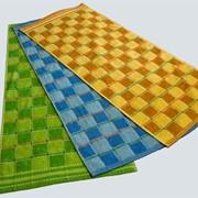 Полотенце махровое, цветное фото