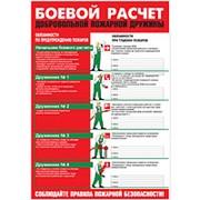 Плакат Боевой расчет ДПД фото
