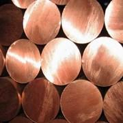Пруток (круг) медный 45 мм М1 ГКРХХ ГОСТ 1535-91 фото