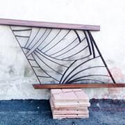Ограждение, Металлический забор, Кованный забор фото