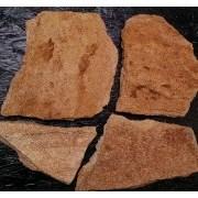 Природный камень Кварцит золотой 30-40мм фото