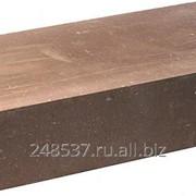 Кирпич гиперпрессованный облицовочный одинарный М-250 коричневый гладкий фото