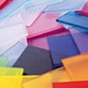 Поликарбонат сотовый цветной фото