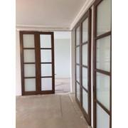 Монтаж и установка межкомнатных дверей фото