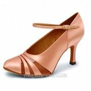 Обувь женская для танцев стандарт модель Сюзанна - A фото