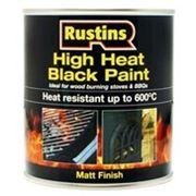 Термостойкая краска High Heat Black Paint 250мл. фото