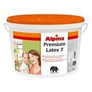 Краска для внутренних работ Alpina PREMIUMLATEX 7 10л В1 фото