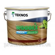 WOODEX AQUA WOOD OIL Вудекс Аква Вуд Оил масло для дерева фото