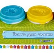 Тесто для лепки: 4 цвета, 224г фото