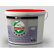 Краска акриловая, интерьерная ANSERGLOB (для стен и потолка)(1,4 кг) фото