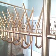 Гардероб из полированной латуни Золотой ключик фото