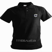 Рубашка поло Volvo черная фото