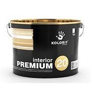 Краска противоплесневая Колорит Interior Premium 20, 10л фото