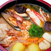 Рыба морская в ресторане Morimoto фото