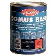 Грунтовочная краска SADOLIN DOMUS BASE белый (Швеция) 10л фото