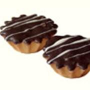 Печенье Корзиночка в шоколадной глазури фото