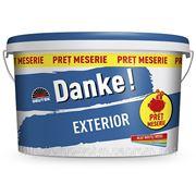 Краска фасадная Danke EXTERIOR (Румыния) 15л. фото