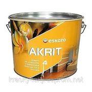 Краска для потолков и стен Акрит 4 Eskaro Akrit 4, 9.5л