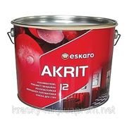 Краска для стен Eskaro Akrit 12, 9.5л
