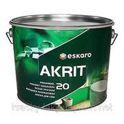 Краска для стен Eskaro Akrit 20, 9.5л