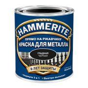 Краска «Hammerite» 2,5 л гладкая золотая