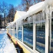 Строительство зимней теплицы фото