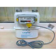 Счетчик газа с возможностью подключения электронного контактного датчика фото