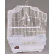Клетка для мелких птиц, модель A112, 30х23х39см, крашенные фото