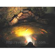 Подсветка бассейна. фото