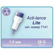 Ланцеты автоматические для забора крови Acti-lance Lite фото
