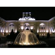 Подсветка фонтана... фото