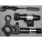 ЛЦУ Laser Scope + фонарик Police + 2крепления фото