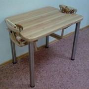 Деревянные столы для кормления двух детей в домах ребенка фото