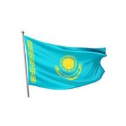 Флаг РК 3х6 м (сетка), 4*8 м, 5*10 м,7*14 м , 10*20 м . фото