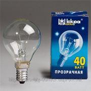 Товары для дома оптом Лампы дешево накаливания ICКРА E14 ШАРИК фото
