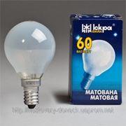 Лампа накаливания ICКРА E14 ШАРИК фото
