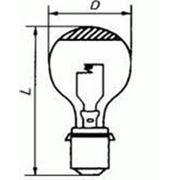 Лампа ПЖЗ 13,5-110, 1Ф-С34-1 фото