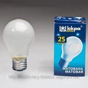 Лампа накаливания ІCKРА МАТОВАЯ фото