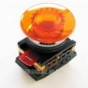 Кнопка AELA-22 (грибок оранжевый неон) IEK (200) фото