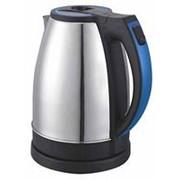 Чайник Supra KES-2231, 2200Вт, 2,2л, син/серебро фото