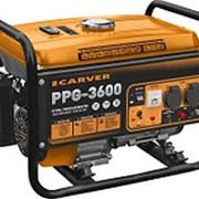 Бензогенератор Carver PPG-3600 фото